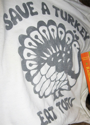 """Save a Turkey..."" t-shirt"